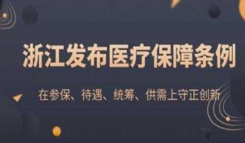 2021浙江省医疗保障条例全文