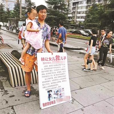 父亲举牌转让女儿救儿子  父母想当送养人需要满足哪些条件