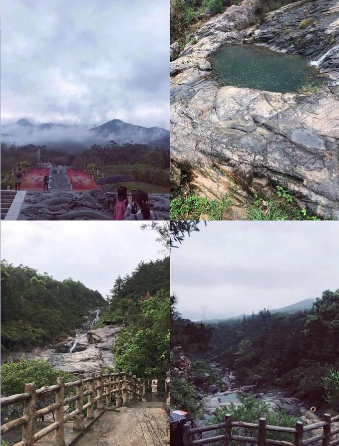 四月雨天攀登北辰山 大��DIY�F建之旅