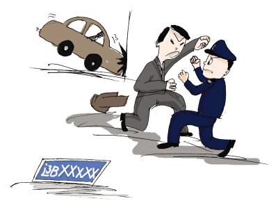 合肥一男子持刀砍伤2名交警 关于袭警法律怎么判刑?