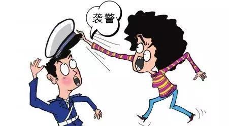 合肥一男子持刀砍��2名交警 �P于�u警法律怎么判刑?