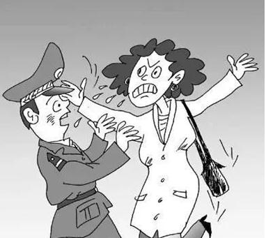 女子撒泼对抗执法 法定哪些行为属于阻碍执法?