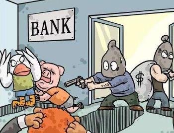 美国41岁律师三周内连抢5家银行 连抢银行犯什么罪?