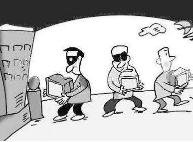 承包商收花生遭数百村民哄抢 盗窃罪怎么处罚?